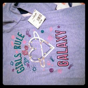 New Blue Heather Tee for Girls